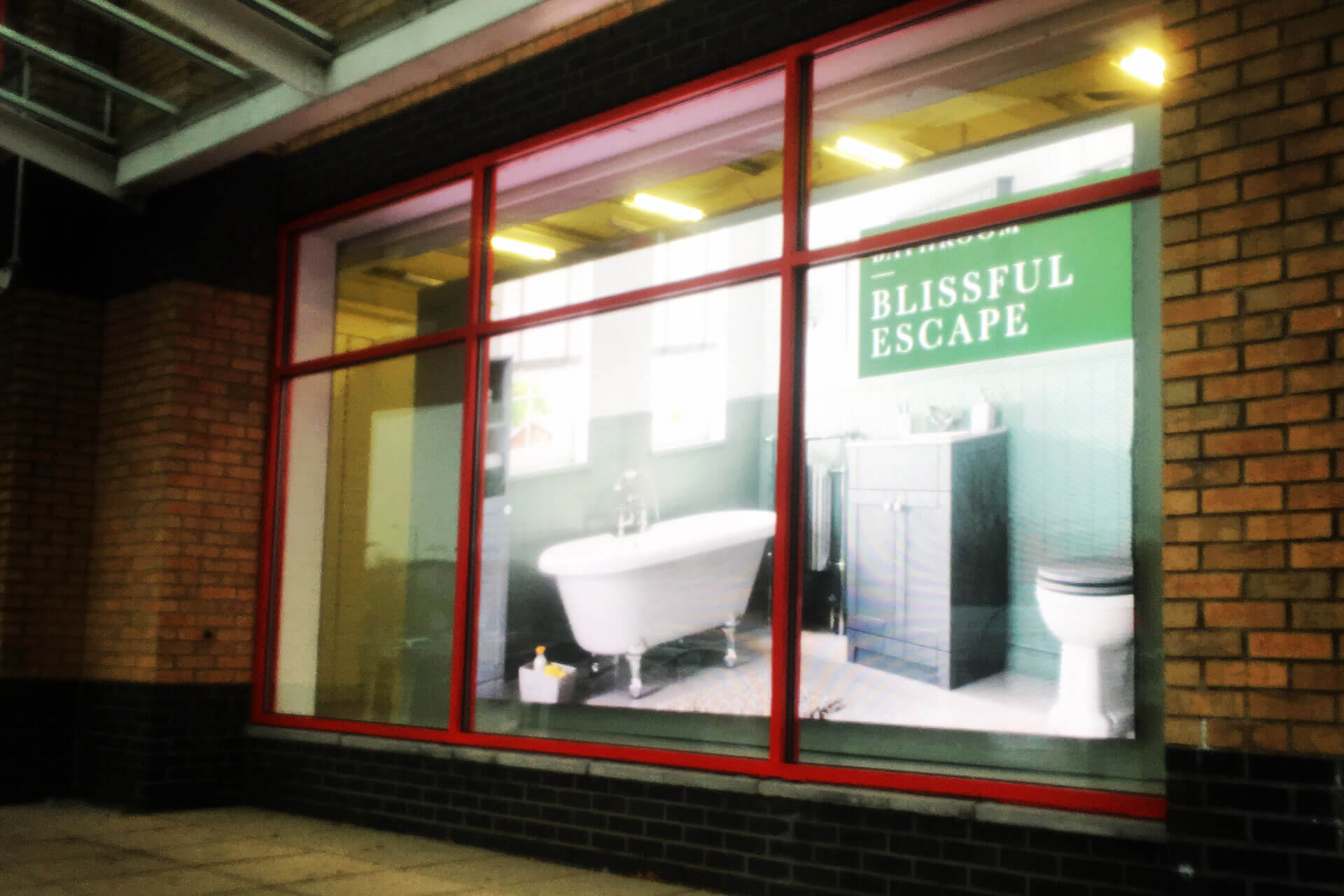 Eclipse Digital Media - Digital Signage Solutions - Matalan Indoor LED Wall - Outside Close