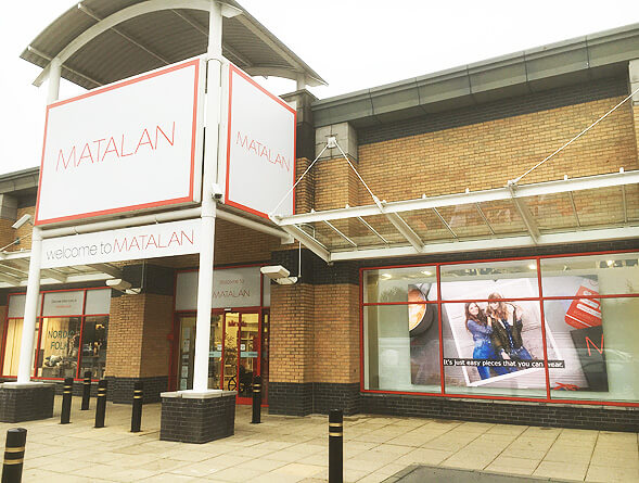 Eclipse Digital Media - Digital Signage Solutions - Indoor LED Wall Matalan