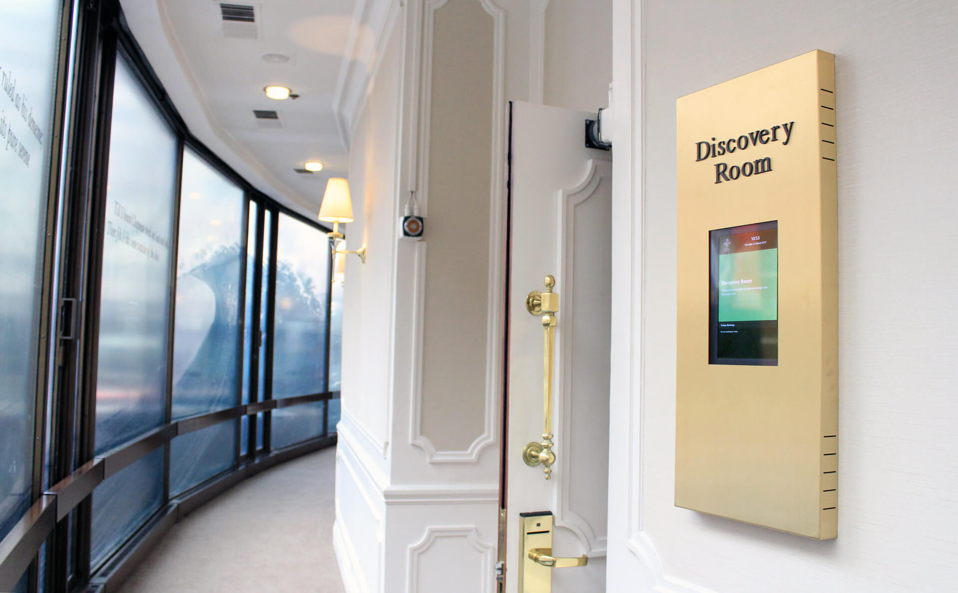 Eclipse Digital Media Digital Signage Project The Park Hotel Knightsbridge room booking
