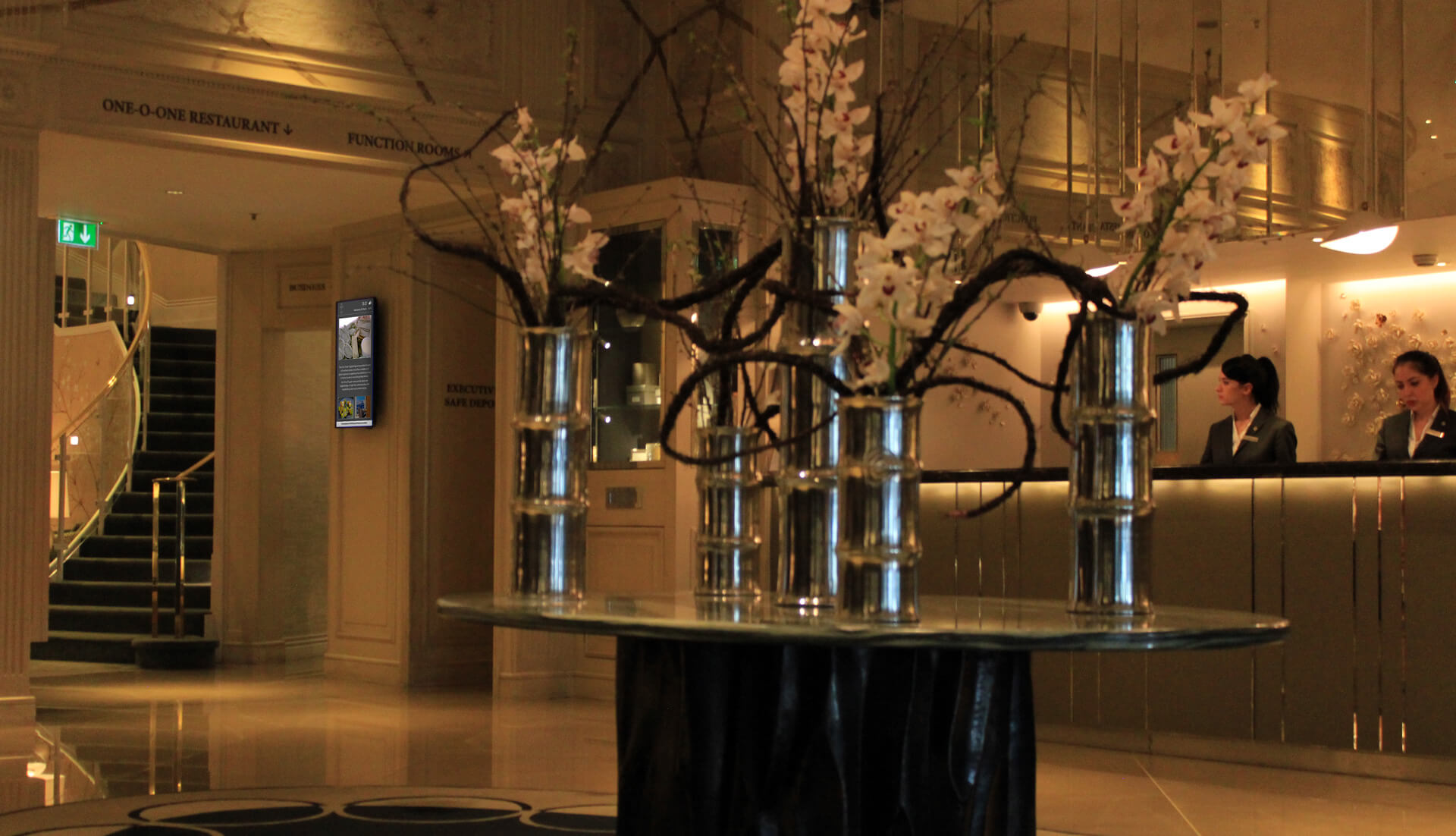 Eclipse Digital Media Digital Signage Project The Park Hotel Knightsbridge 19