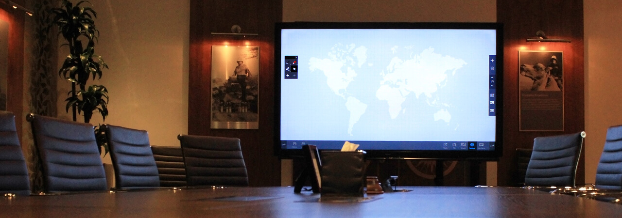 Eclipse Digital Media Digital Signage Hotel Meeting room solution