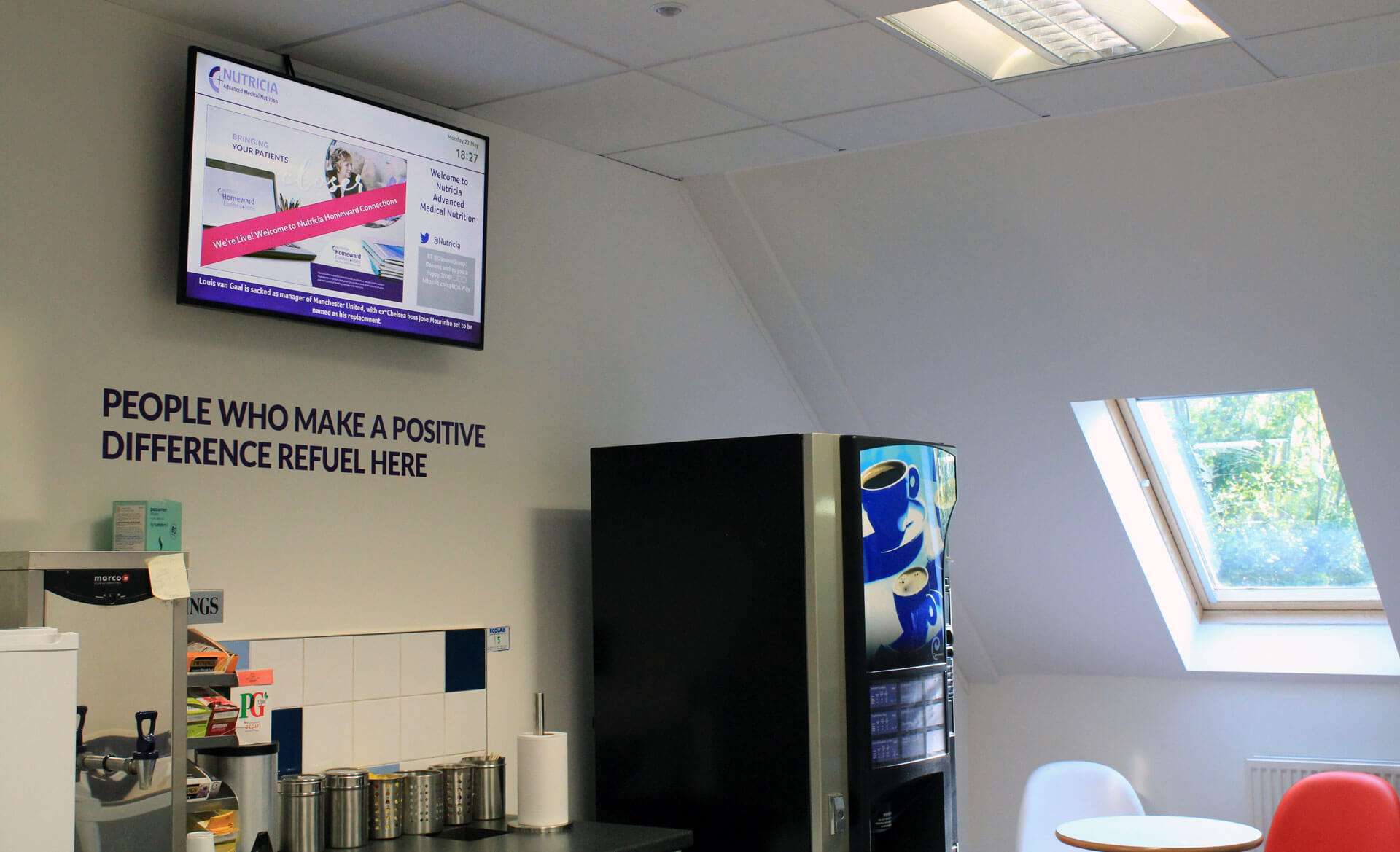 Eclipse Digital Media Digital Signage Project Danone Nutricia 10