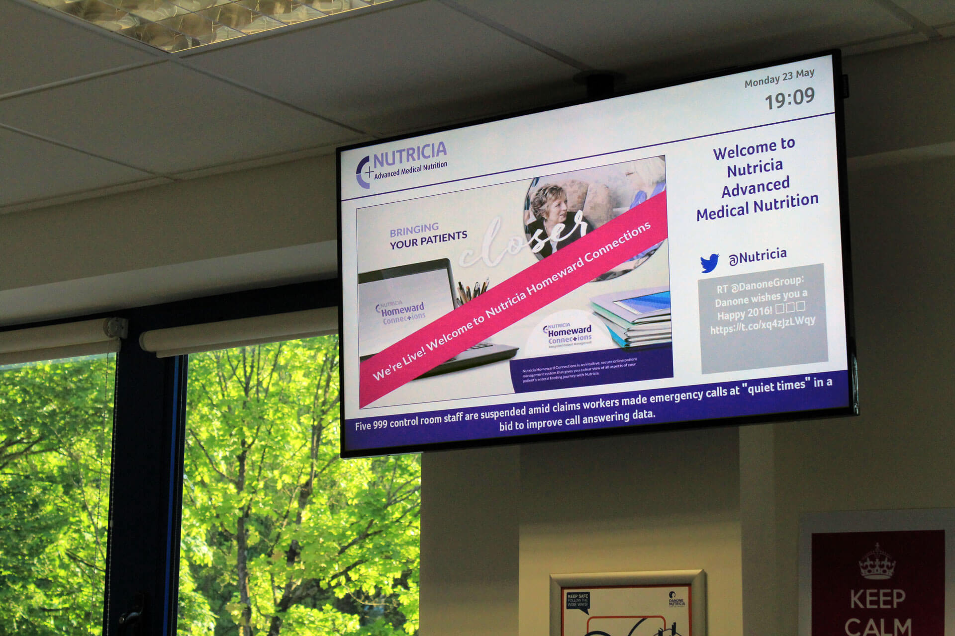 Eclipse Digital Media Digital Signage Project Danone Nutricia 16