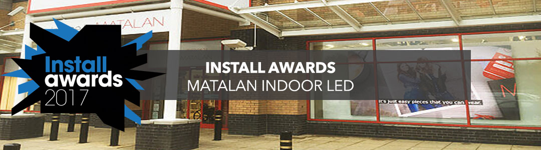 Indoor LED Wall Nominated At The Install Awards