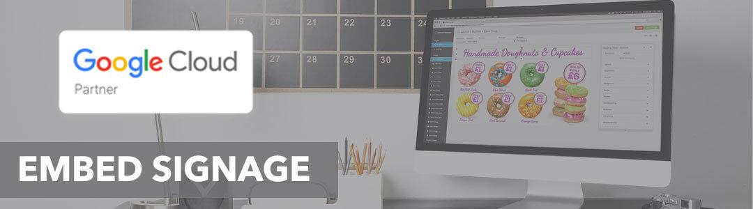 Eclipse Digital Media - Digital Signage and AV Solutions - Why Chrome for Signage? - Embed Signage Cloud Based Software Header