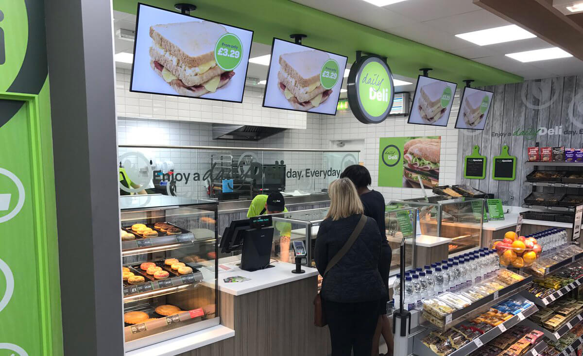 Eclipse Digital Media - Digital Signage and AV - Country Choice Digital Menu Boards Case Study - Daily Deli SPAR