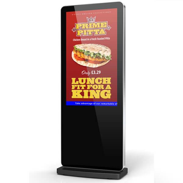 Eclipse Digital Media - Digital Signage Shop - Freestanding Digital Poster Front