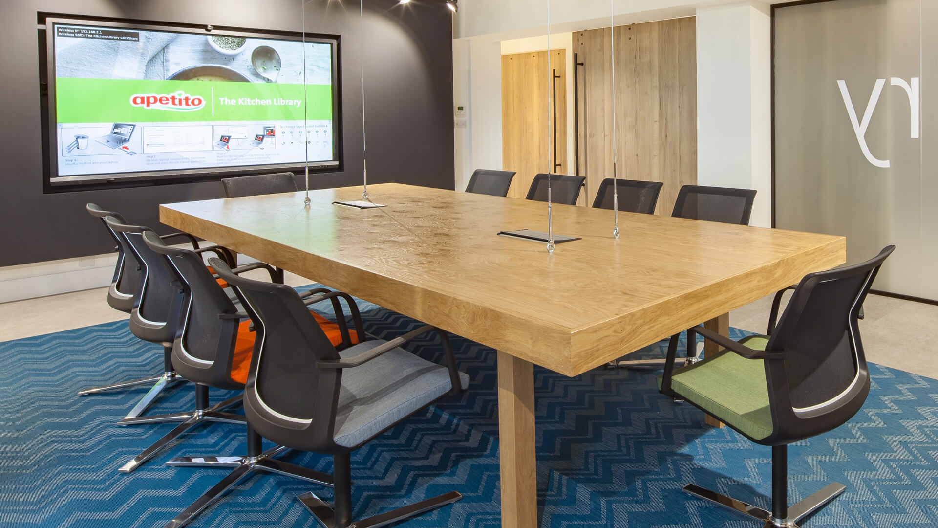 eclipse digital media - digital signage and av solutions - apetito customer visitor centre - boardroom