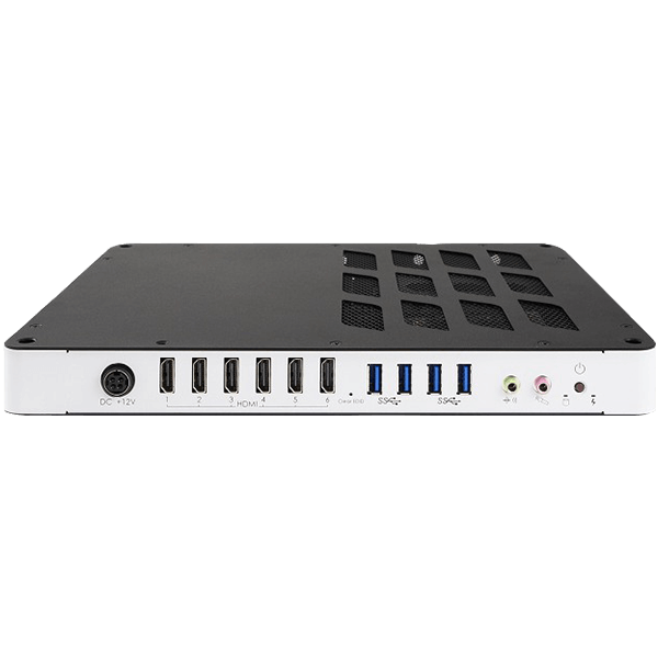 Eclipse Digital Media - Digital Signage Shop - iBase SI-626 6 x HDMI Outputs