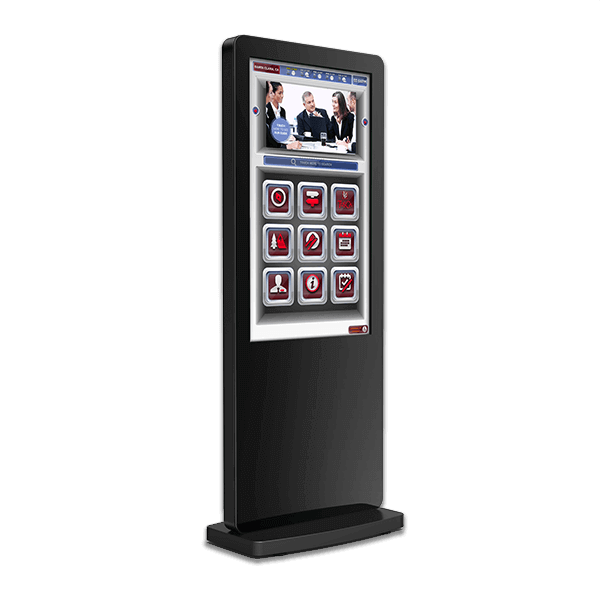 Eclipse Digital Media - Digital Signage Shop - interactive freestanding infrared touch poster