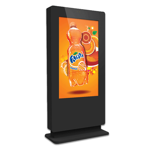 Eclipse Digital Media - Digital Signage Shop - outdoor freestanding digital signage totem