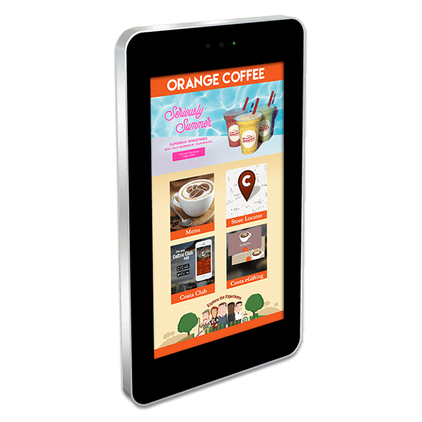 Eclipse Digital Media - Digital Signage Shop - outdoor interactive PCAP touch digital signage display portrait