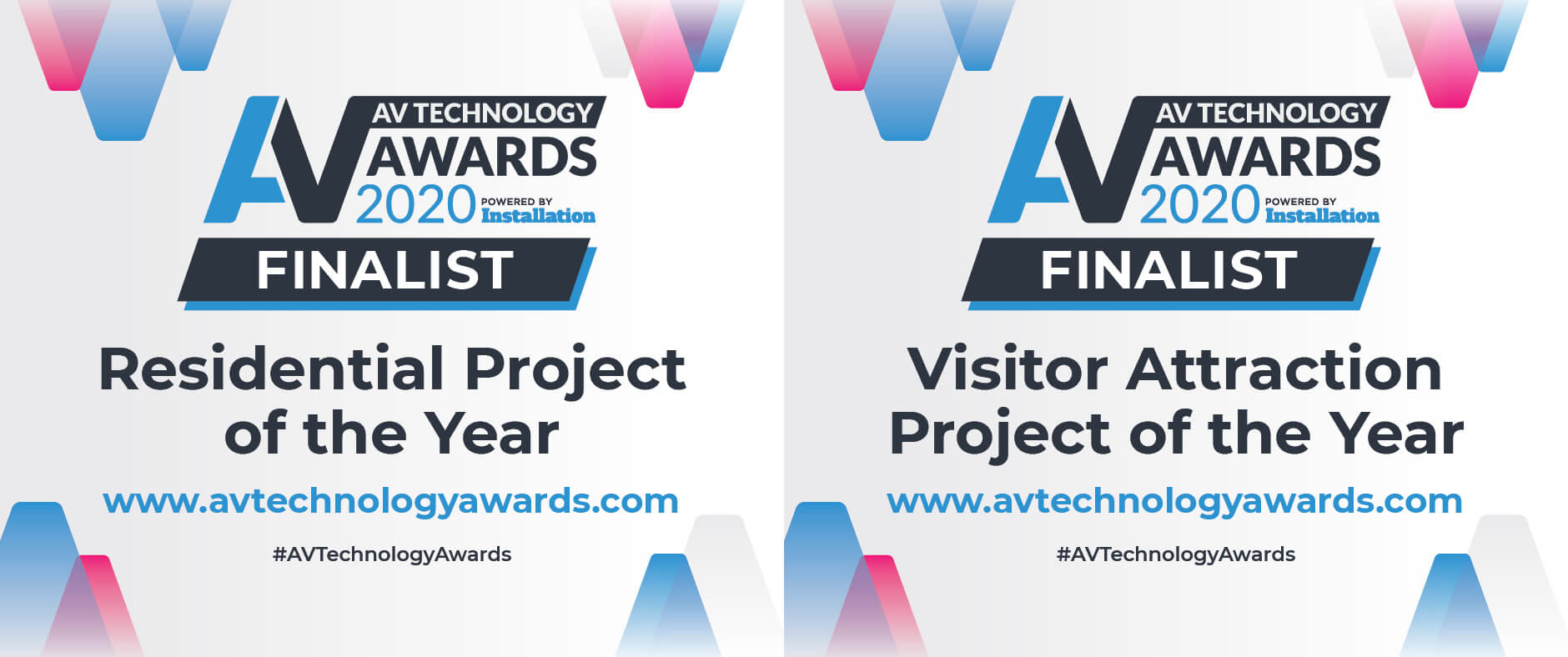 Eclipse Digital Media - Digital Signage and AV Solutions - Shortlisted for Two AV Technology Awards 2020