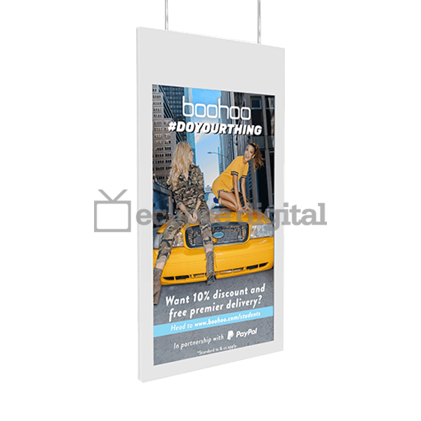 Eclipse Digital Media - Digital Signage Shop - Double sided window display