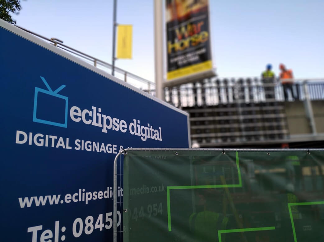 Eclipse Digital Media - Digital Signage and AV Solutions - Wembley Park - Bobby Moore Bridge LED - Install