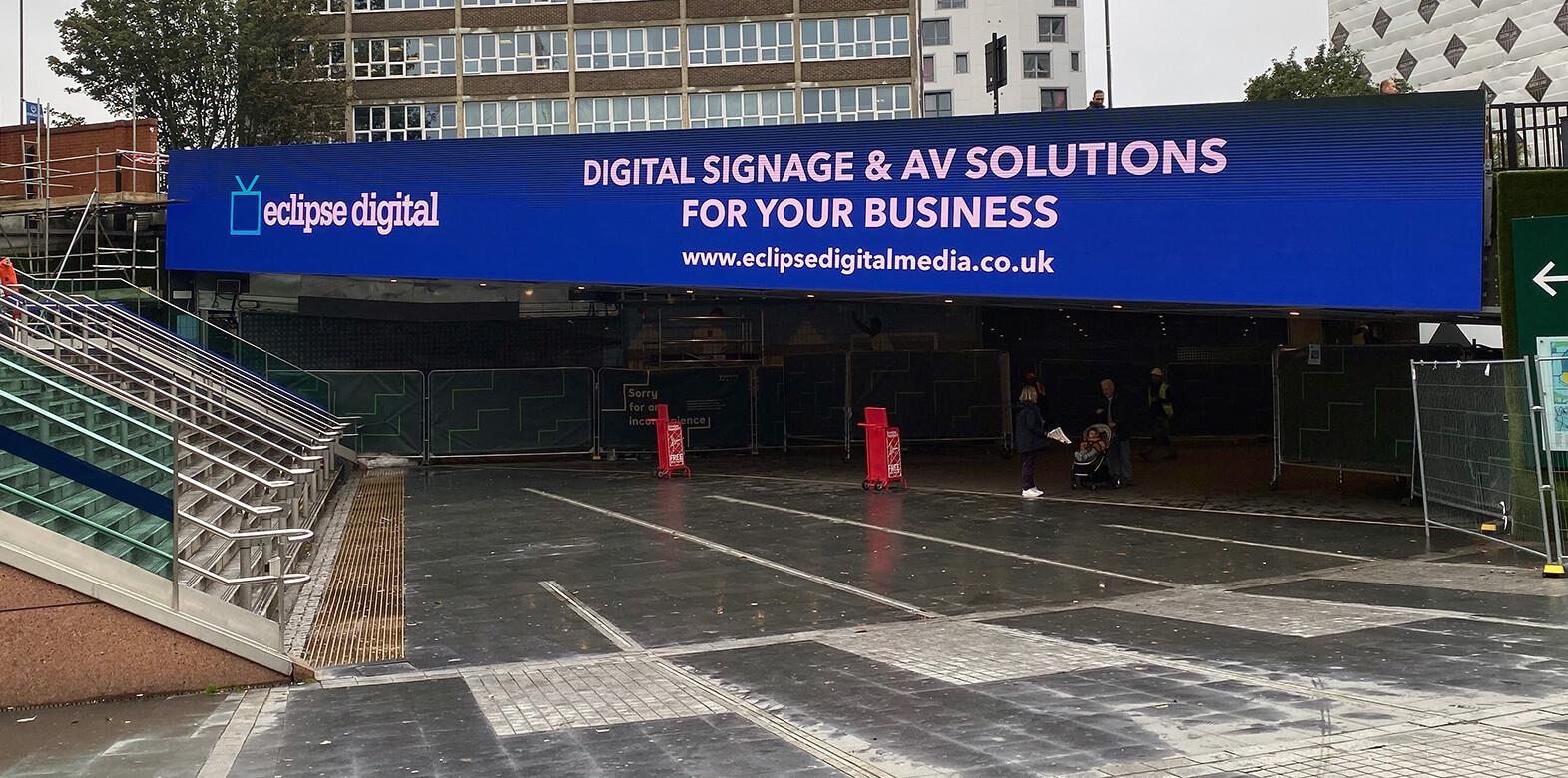 Eclipse Digital Media - Digital Signage and AV Solutions - Wembley Park - Bobby Moore Bridge LED - Eclipse Digital