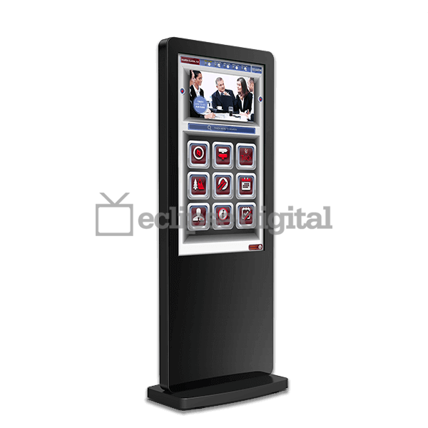 Eclipse Digital Media - Digital Signage Shop - Freestanding interactive digital totem