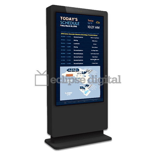 Eclipse Digital Media - Digital Signage Shop - IP65 rated outdoor freestanding pcap touch totem