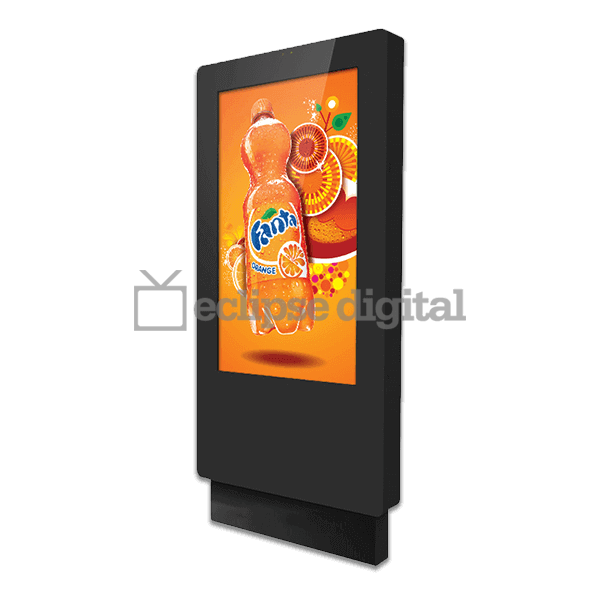Eclipse Digital Media - Digital Signage Shop - IP65 rated outdoor freestanding totem