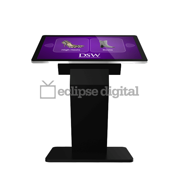 Eclipse Digital Media - Digital Signage Shop - Dual OS PCAP touch kiosk