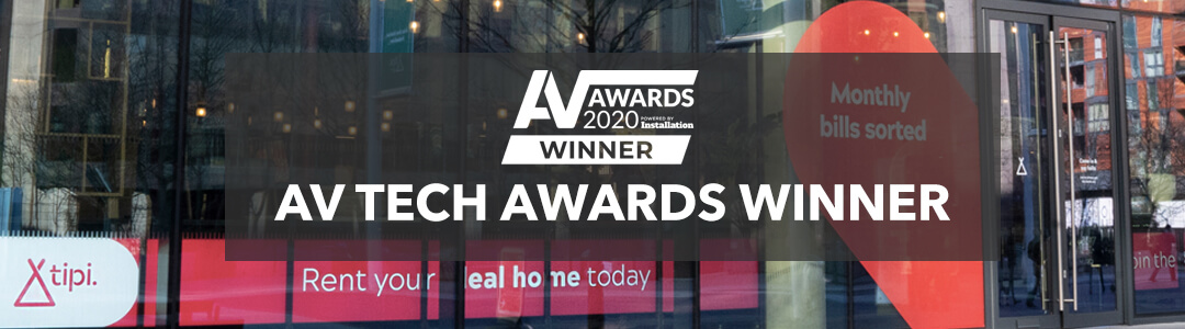 Eclipse Digital Winners at AV Technology Awards 2020
