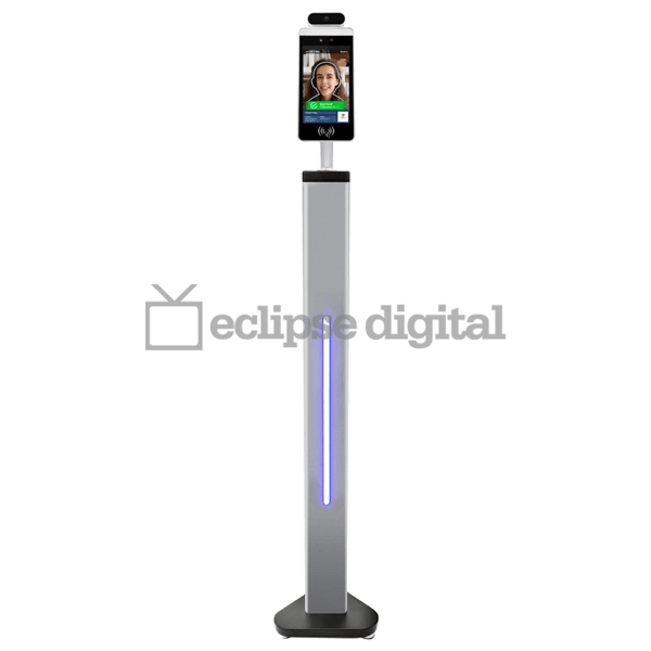 "Eclipse Digital Media - Digital Signage Shop - 8"" Facial recognition thermometer display"