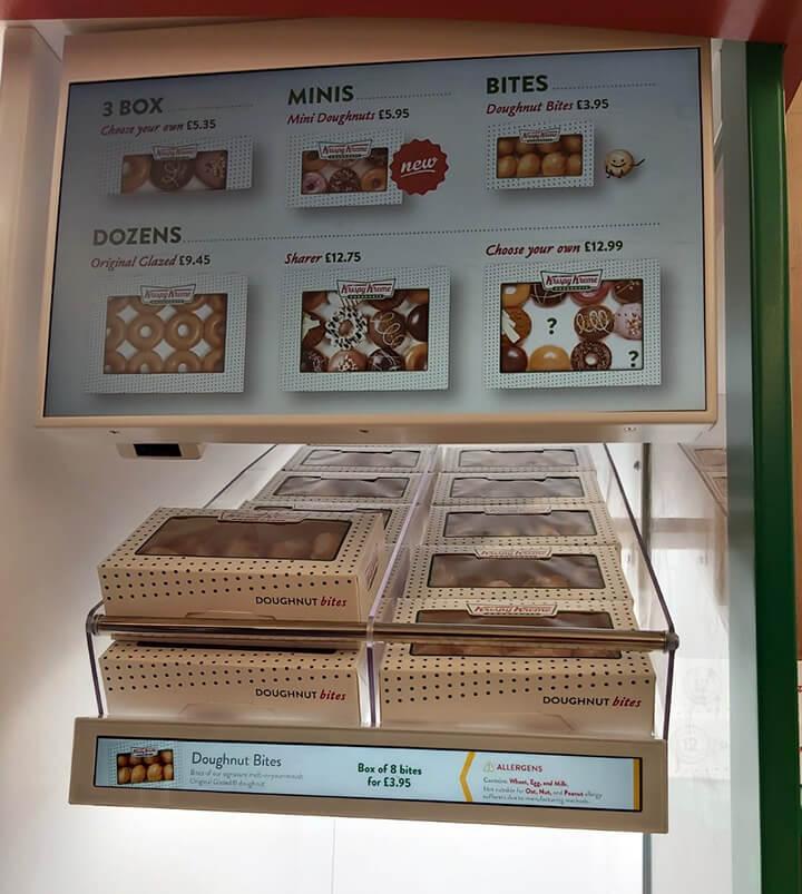 Eclipse Digital Media - Digital Signage, LED and AV Specialists - Krispy Kreme GEN8 Cabinet Internal