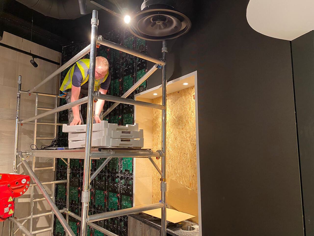 Eclipse Digital Media - Digital Signage, LED and AV Specialists - Krispy Kreme Westfield Stratford LED