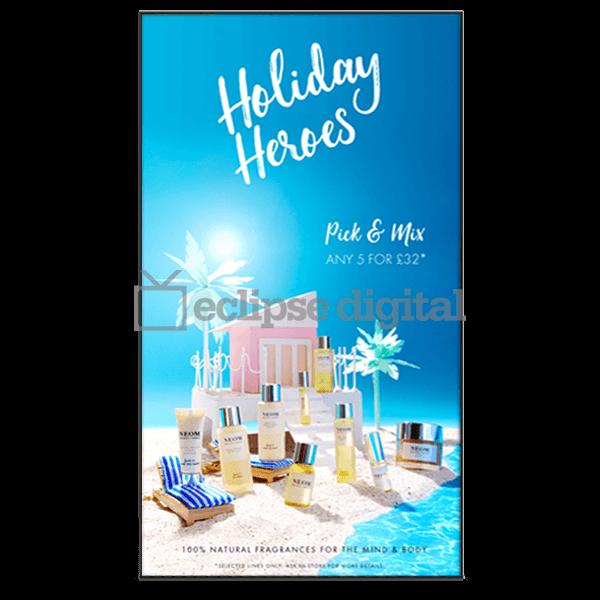 Eclipse Digital Media - Digital Signage Shop - Ultra high bright 3500 nit window display
